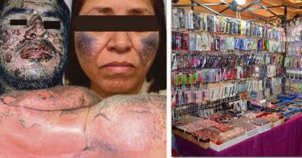 不要再買「廉價亞洲化妝品」了!「恐怖毒彩妝」會害你臉爛掉!(女生必看)