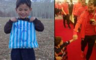 6歲小粉絲沒錢只能穿「塑膠袋偶像球衣」,球王梅西得知「親自送大禮圓夢」感動全場!