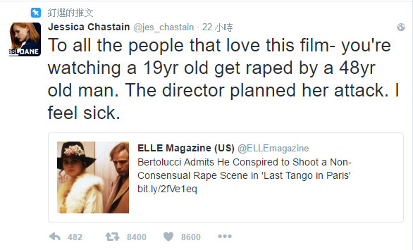 馬龍白蘭度經典情慾片「強行背後進入」那場戲來真的!女主角死前透露:「不知情之下被2個男人強暴」