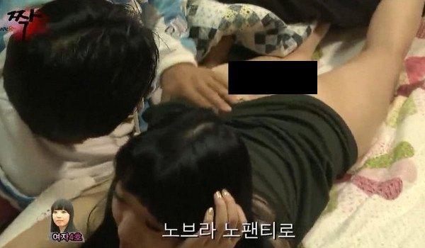 韓國19禁深夜節目超越極限!鹹濕巨乳正妹「先愛愛後配對」滿意再帶回家!