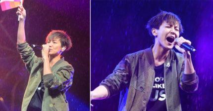 凱道演唱會上何韻詩透露過去,力挺表示:「台灣人你們好厲害!」