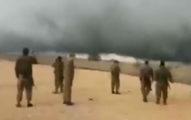 敘利亞邊境出現了「沙漠風暴」分隔ISIS跟以色列,網友驚:「是神的作為!」