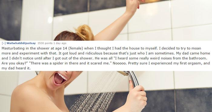 14個網友分享「史上最糟的自愛愛經驗」,#2上完哈密瓜還吃掉它...