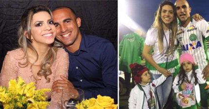 「爸爸死了嗎?!」空難巴西球員太太解釋完,4歲女兒「越哭越大聲」不相信神了...