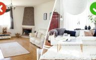 16個我們不知不覺犯下的「客廳空間設計嚴重錯誤」空間感大縮小!#2亞洲房子裡都不該用深色沙發!