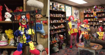 史上最詭異「小丑旅館」500隻恐怖娃娃迎接你,睡覺時還有「眼睛」盯著你看...