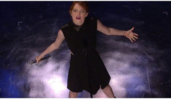 15個證明艾瑪史東已經超越艾瑪華森的「粉絲都不知道驚奇資料」!#12拍愛愛片段時發現有氣喘。