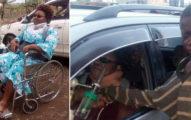 被遺棄男孩向車子乞討看到她時「淚水失控」,車裡的狀況讓路人也非常心碎...