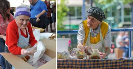 91歲阿嬤30多年來每天「免費煮菜給流浪者」,即使「被車撞倒」也堅持著讓所有人都哭慘了...