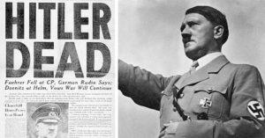 前CIA特工指出「希特勒沒有自殺」屍體根本兩個人,政府遮羞把我們都騙慘了!