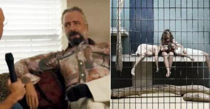 記者訪問「留鬍子的智慧機器人」問「會佔領世界嗎?」,他說「你可以待在我的人類動物園」。