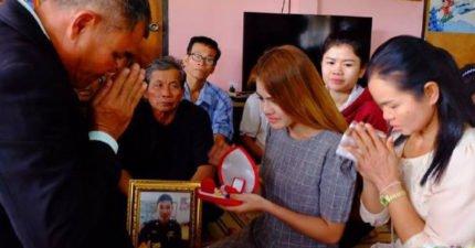 泰國天菜男警車禍死亡,女友堅持冥婚「你是鬼我嫁鬼」超越生死動人告白讓人眼淚止不住!