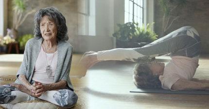 98歲「世界最高齡瑜伽老師」破金氏世界紀錄!「看起來只有70歲」分享3大青春美麗關鍵!(影片)
