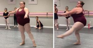 網友笑她胖不可能跳芭蕾,「一開始轉」美到紅遍網路!