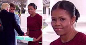 「蜜雪兒收到梅蘭妮亞禮物時」想法寫在臉上超經典囧!「蜜雪兒手足無措」影片笑翻所有人!