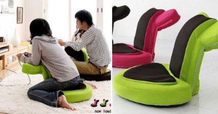 日本遊戲椅完美姿勢「坐下去就再也起不來!」,「主要功能往後仰超爽」未發售已有200萬人預訂!