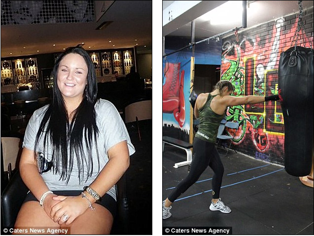 她因垃圾食物跟酒胖到119公斤,被男友嗆「太肥」後痛心甩65公斤泳裝照辣翻!
