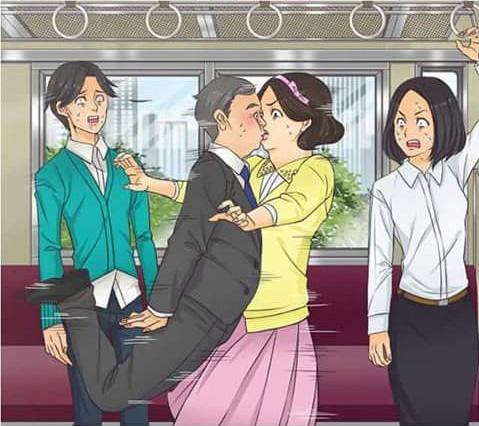 10個「單身男女心裡上演100遍」的阻止小情侶放閃奇招,#2色大叔直接硬上弓!