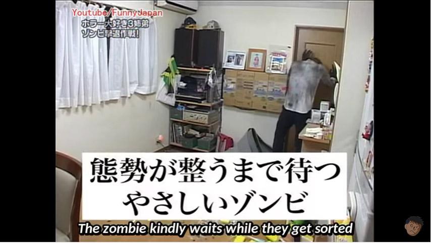日本3姐弟整天幻想「殺喪屍絕招」,讓他們設立陷阱後媽媽請來「真實喪屍」挑戰他們求生能力!