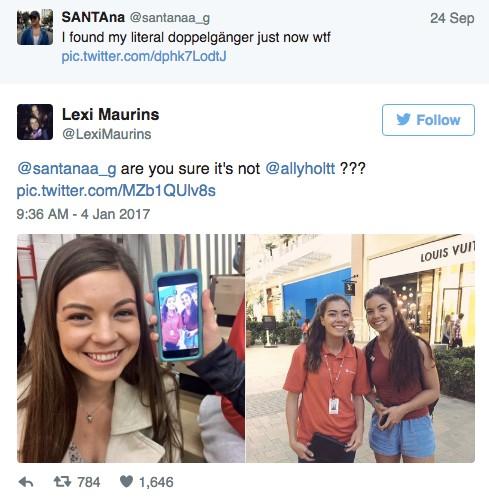 17歲長法辣妹逛街驚見「跟自己相似度99%」女孩,PO上網分享竟出現「另外2位複製女相認!」
