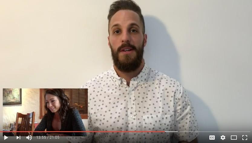 男子「旅行5000公里」跟女友過世爸爸「見一面」,「超感人求婚影片」女友哭著答應!