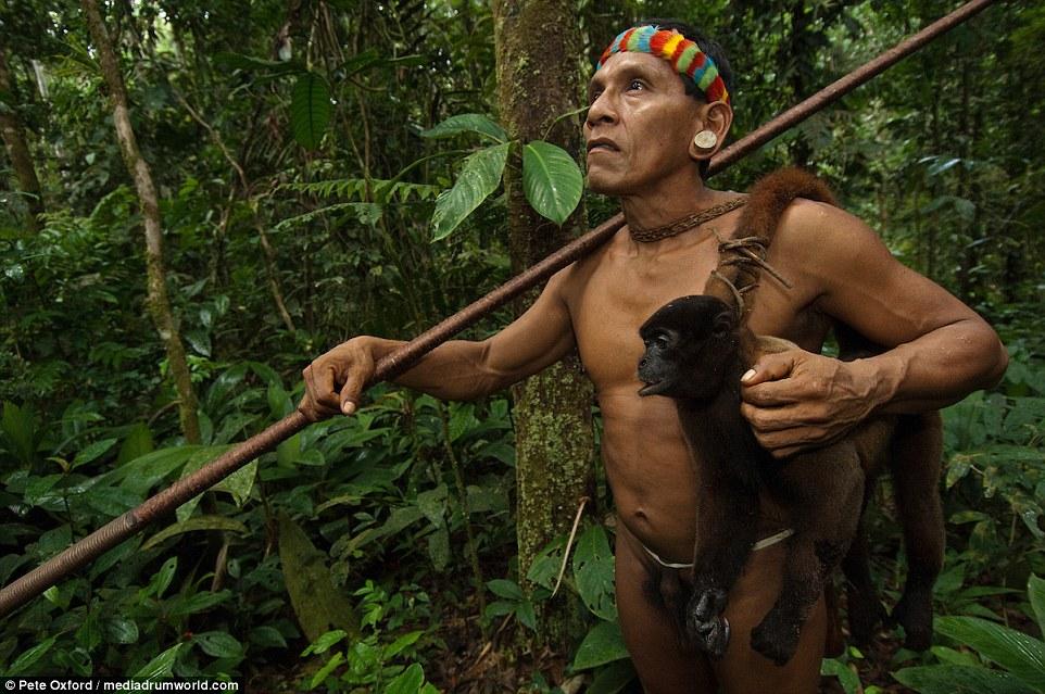 熱帶雨林原始人「爬樹抓猴子」維生,腳掌都已經進化成跟猴子一樣了!