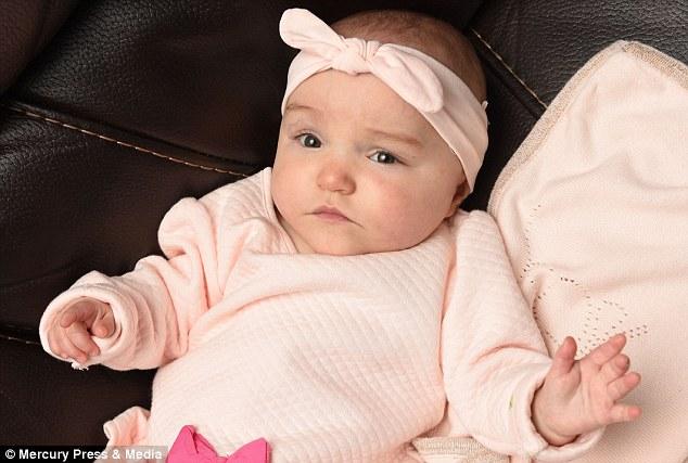 25週大早產兒「腳掌只有一塊錢幣大」早2天出生必死無疑,現在「健康漂亮寶貝」模樣超感動!