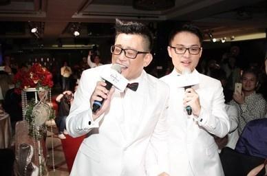 台灣男同志結婚牧師主持證婚儀式,蔡依林送上「翡翠寶石」小S嗆:「給我撐久一點」!