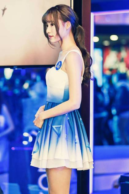 顏值爆表「超正SG」在台北電玩展被捕捉,神到臉書網友表示「周子瑜的感覺」!