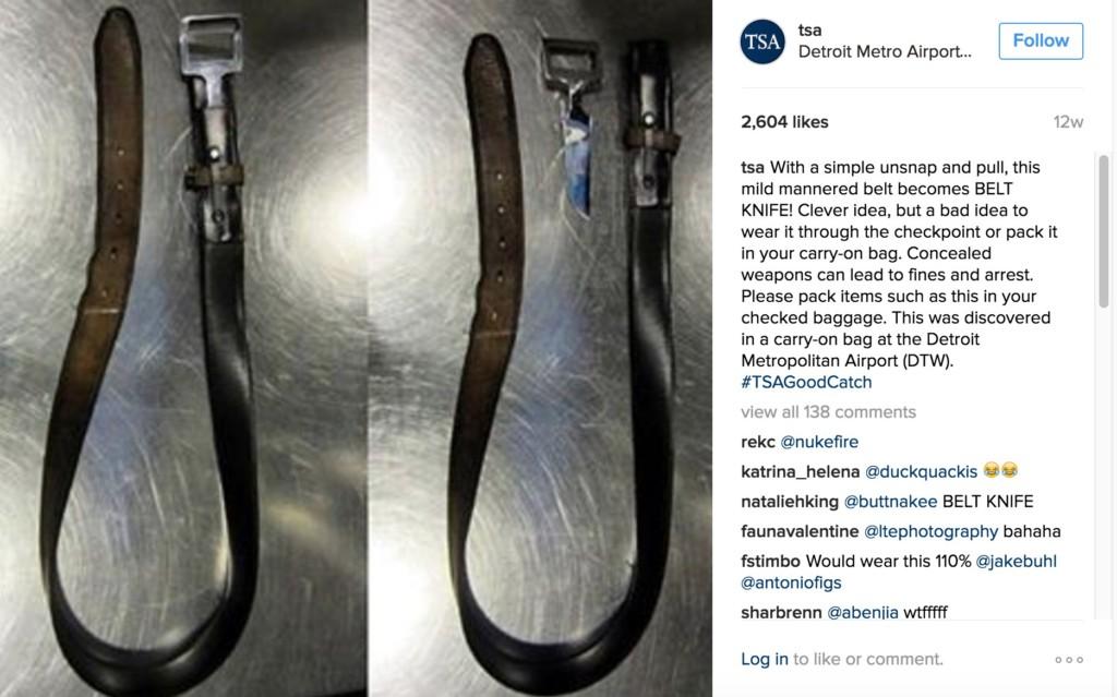 12個機場安檢見過最扯物品!你不能帶這種鑰匙圈...