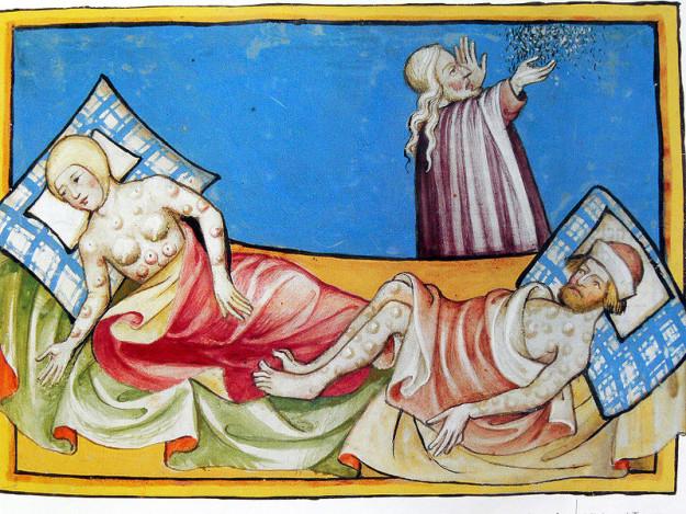 19張「證明以前醫生真不知道是哪畢業」的中古世紀醫生爆笑驚悚照。