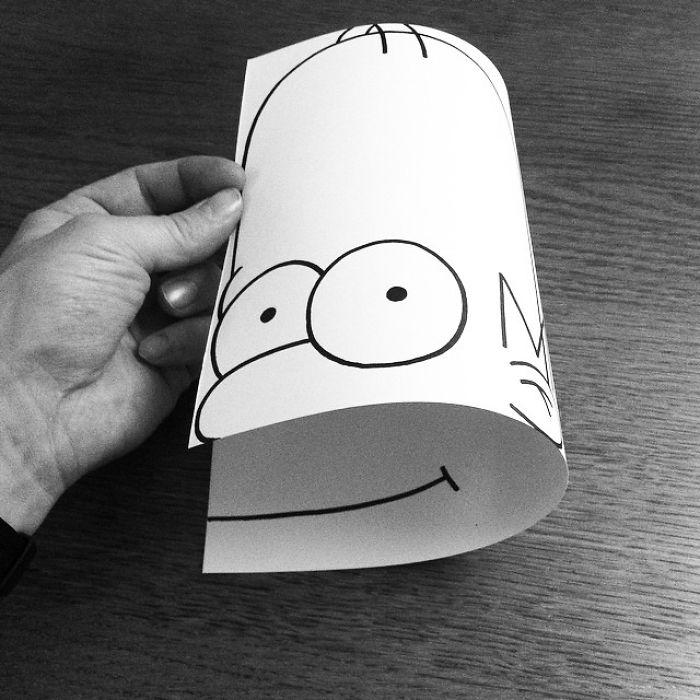 37個炸爆你腦漿的「2D→3D」神奇立體撕紙作品!
