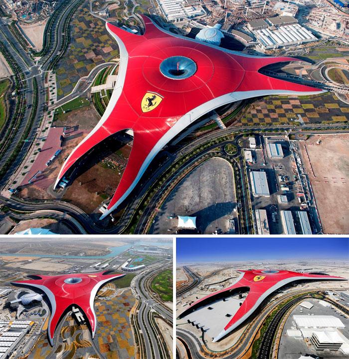 Ferrari World, Abu Dhabi, UAE