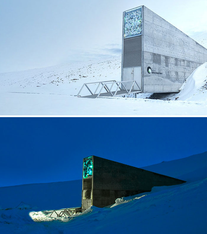 Svalbard Global Seed Vault (Seed Bank), Spitsbergen, Norway