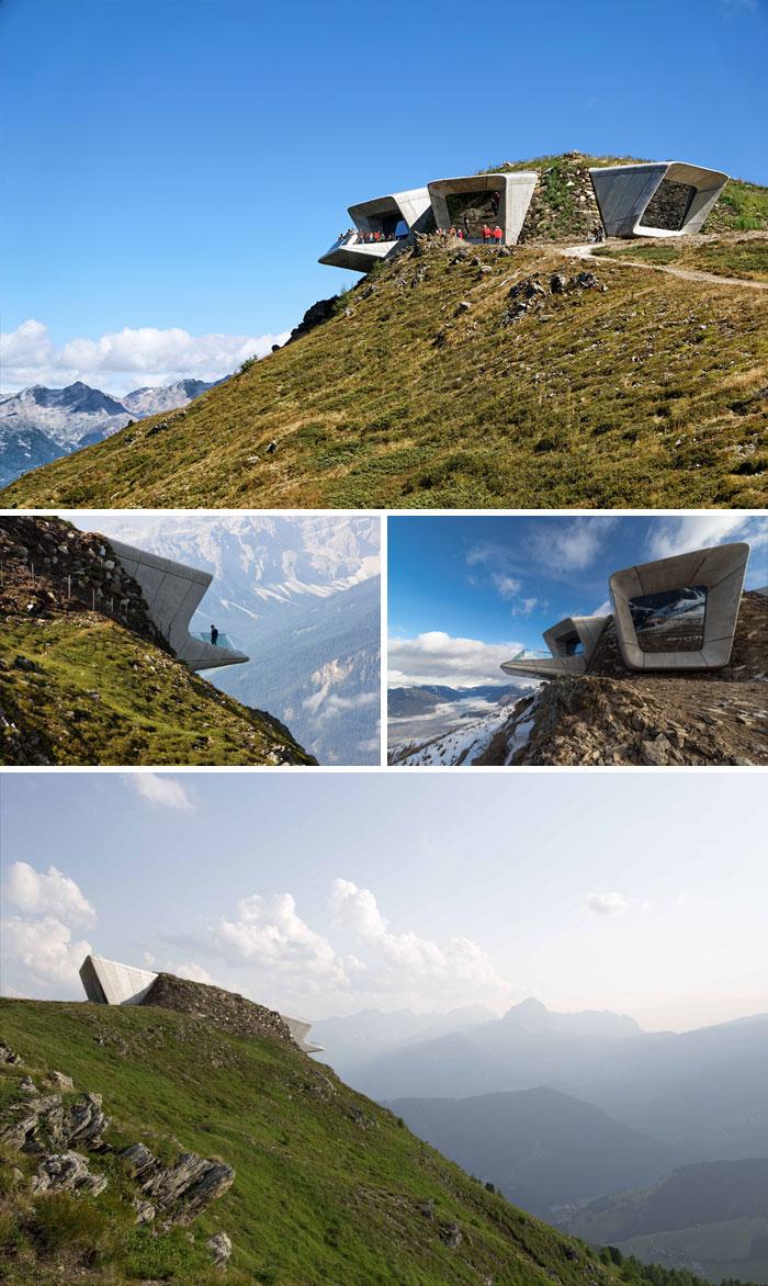 Messner Mountain Museum Corones, Italy