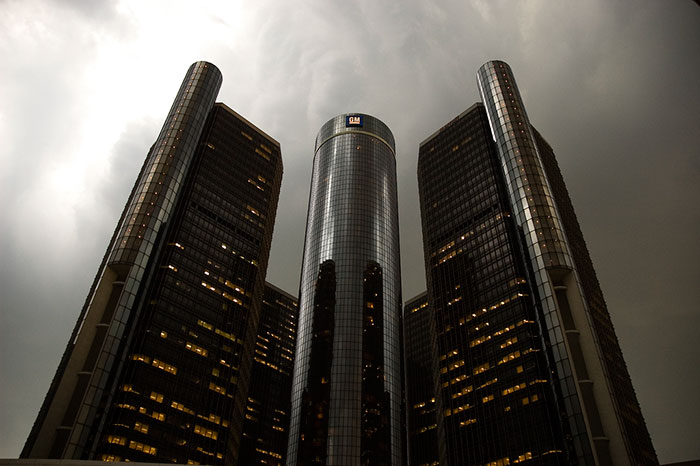 The Renaissance Center, Detroit, Michigan