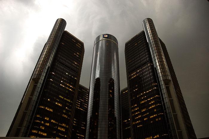 The Renaissance Center, Detroit, Michigan