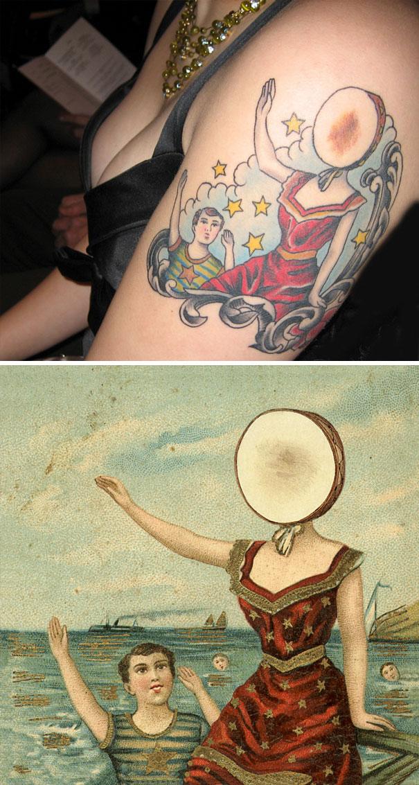 30張告訴你胎記可以超美的「胎記變可愛刺青」驚人前後對比照!