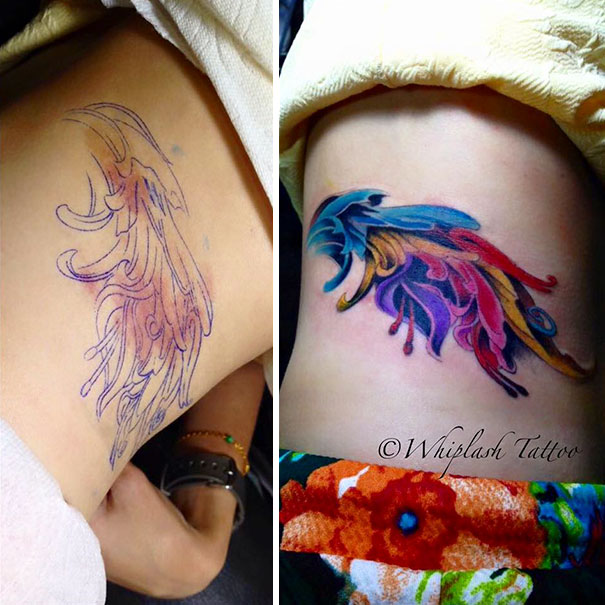Colorful Birthmark Cover Up