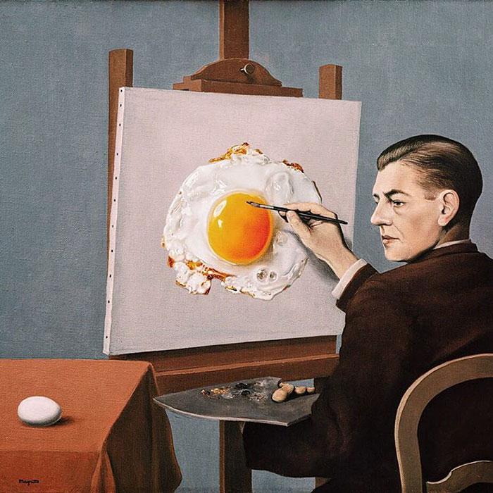 30張只有看透世界的人才能看懂的「超現實主義諷刺」畫作!