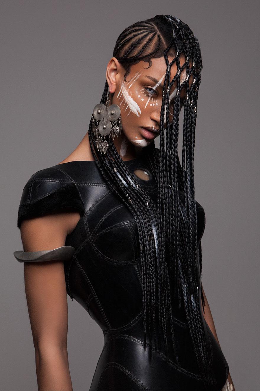 16張美到你移不開眼睛的「結合力與美超炫非洲時尚髮型」,#3震撼度爆表!