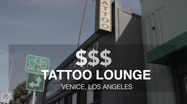 """The first tattoo shop was """"Tattoo Lounge"""" which has been in Venice, CA for 23 years. Ben decided he really wanted to compliment the moon tattoo he already has by sticking with a space theme. He also loves the book Peter Pan, so he chose to get the two stars that represent where Neverland is located."""