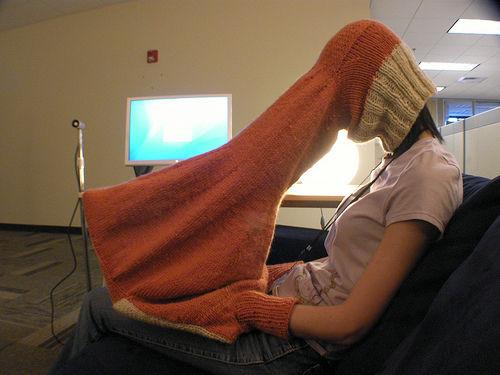 「讓我冷靜一下」毛衣!一輩子再也沒有可惡的人可以煩你了!