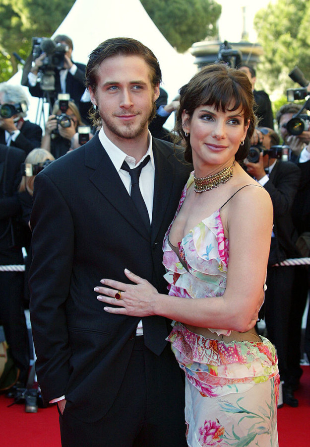 Ryan Gosling with Sandra Bullock: