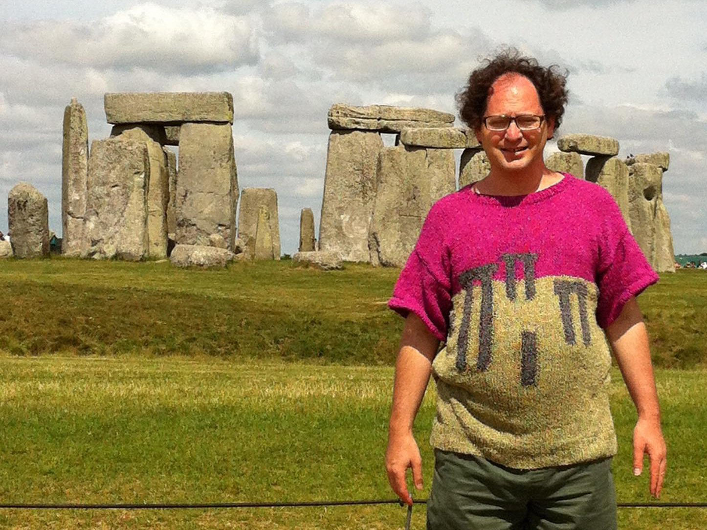 For Stonehenge.