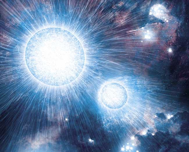 人類將首次能在星空中看到「兩顆恆星相撞」!到時候我們都能看到「另一個太陽」產生!