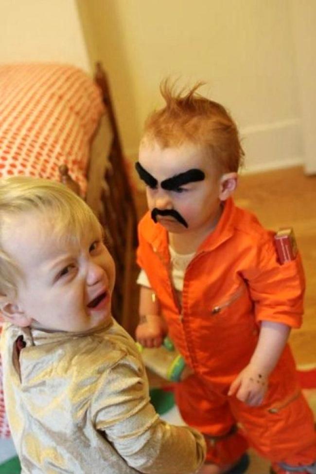 16張爆笑照片證明「孩子就是快樂的根源」!