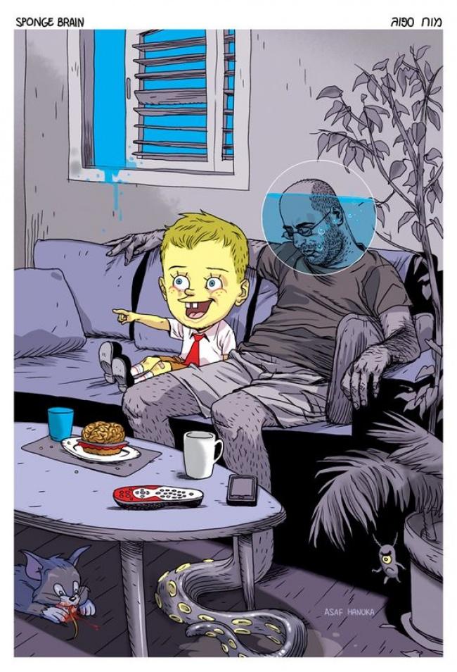 15張會讓你看完後想很多的「反應社會現實黑暗」真相畫作!
