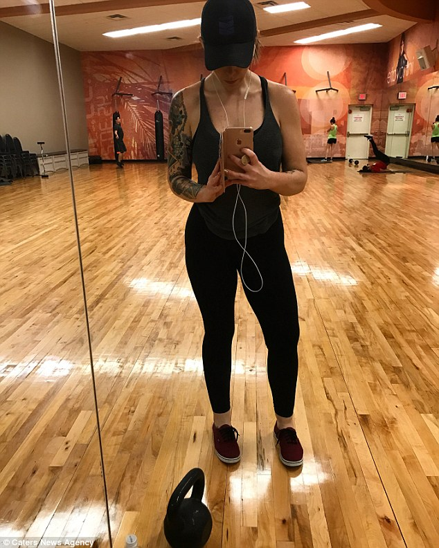 兩年前的她酒精中毒「胖到140公斤」不相信有人愛自己,痛甩75公斤「男人給他尊重」人生完全改變!