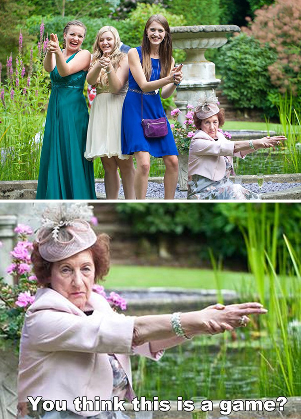 Serious Granny